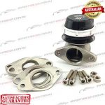 IRACE 38mm 2 Bolt Wastegate Racegate38 Black 12psi
